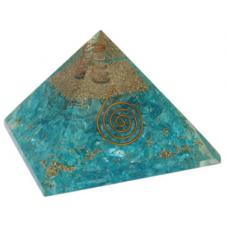 Pyramide Orgonite Aigue...