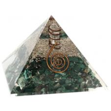 Pyramide Orgonite Malachite