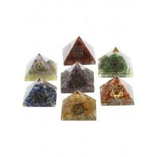 Ensemble 7 pyramides...