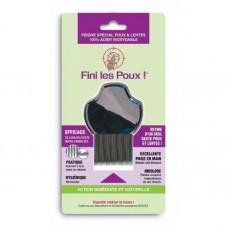 Peigne inox poux et lentes