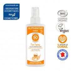 Spray solaire bébé SPF 50...