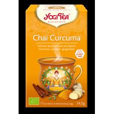 Yogi Tea Chaï Curcuma bio x17